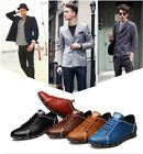 Fashion Trend Casual Leisure  Flats Shoes Leather Breathable Footwear For Men