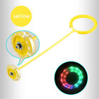 Flash Jumping Ring Educational Skip Jumping Toy Assorted Colors Swing Balls