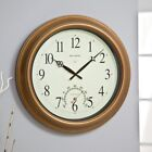 Chaney Balmoral II Atomix Aged Copper 18 in. Wall Clock