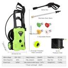 Electric High Pressure Washer 2600 PSI 1.6 GPM Power Hose Detergent Tank Cleaner