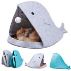 Puppy Pet Dog Cat Warm Soft Cozy Cave House Nest Kennel Bed Sleeping Bag Mat Pad