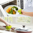 Food Grade Silicone Oven Mitt Pot Plant Bowl Holder Cooking Pinch Multi-Color XR