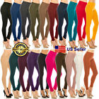 Women Classic Basic Solid Cotton Stretchy Skinny soft Denim Pants Jeggings Comfy