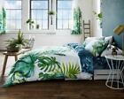 Tropical Leaf Exotic Green Duvet Quilt Cover Bedding Linen Set with Pillow Cases