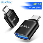 RAXFLY USB-C Type C Male to USB 3.0 Female OTG Adapter Converter for Samsung S9