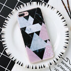 Ultra Slim Geometric Marble Pattern Soft Phone Case Cover For Samsung Galaxy