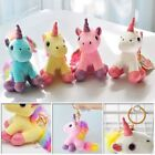 Soft Animal Unicorn Plush Toys Doll KeyChain Gift For Childr