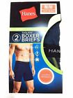 Hanes Men's Tagless Boxer Briefs - Sport Styling Performance Sizes M, XL