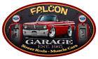 1965 Ford Falcon Convertible Garage Sign Wall Art Graphic Sticker