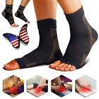 Copper Compression Foot Sleeve Plantar Fasciitis Ankle Pain Socks Stockings CFR