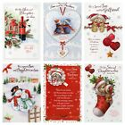 Son & Daughter In Law / Partner / Girlfriend Christmas Card ~ Choice Of Design