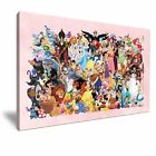 DISNEY Characters Collection Stretched Canvas ~ More Size