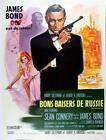 James Bond Poster//Vintage James Bond Movie Poster//From Russia with Love French $19.99 USD on eBay