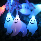LED Halloween Ghost String Fairy Lights Indoor Outdoor Home Party Xmas Decor