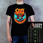 New Ozzy Osbourne Black Sabbath 2018 No More Tour Graphic Black Men's T-shirt image