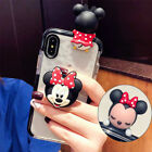 Cute Hello Kitty Doll Airbag Holder Stand Case Cover for iPhone XS Max XR 6 7 8+