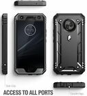 Rugged Kickstand Case For Moto Z4 / Moto X4 ,Poetic® Dual Layer Shockproof Cover