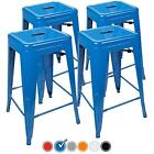 UrbanMod 24 Inch Bar Stools for Kitchen Counter Height, Indoor Outdoor