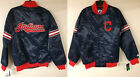 Cleveland Indians Starter MLB Retro Authentic Satin Jacket Varsity Throwback on Ebay