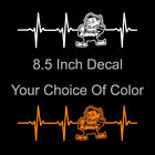 Cleveland Browns Brownie Elf  Heartbeat Vinyl Decal Sticker - Pick Your Color! on eBay