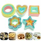 Внешний вид - 1 Set Heart Cookies Cutter Molds Plastic Cookies Cake Decorating DIY Baking Tool