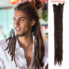 Dreadlock Extensions Faux Locs Synthetic Hair Jamaica Reggae Punk For Men Women