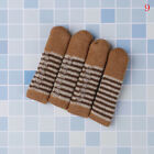 4Pcs table chair foot leg knit cover protector socks sleeve protect floor wearPL