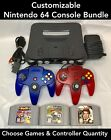 N64 Nintendo 64 Console with New Controllers - Mario Kart, 007, Super Smash <br/> Free 2-3 Day Ship | Choose Bundle | Quality Guaranteed