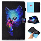 For Amazon Kindle Fire HD 8 2018 8th/HD 10 2017 Smart Pattern Leather Case Cover