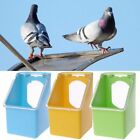 Mini Pigeon Food Water Bowl Feeder Plastic Birds Cage Sand Food Box Feed Cup New
