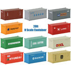 20ft N Scale Container 1:150 Shipping Container 20 Foot Freight Car Model Train