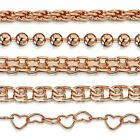 Amberta Genuine Rose Gold Plated on 925 Sterling Silver Bracelet Bangle Italy