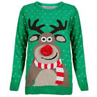 UNISEX LADIES WOMENS MEN CHRISTMAS JUMPER XMAS NOVELTY VINTAGE KNITTED SWEATER