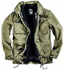 Black Premium by EMP Army Field Jacket Winterjacke oliv