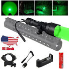 Tactical 350 Yards LED Flashlight Predator Varmint Hog Hunting Light Rifle MountLights & Lasers - 106974
