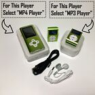 MP3 Player Ultra Slim Music MP4 Player FM Radio Voice Record Video Play 64GB