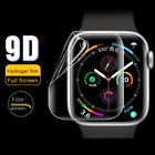 For Apple Watch Silicone TPU Case 360 Degree Clear Skin Cover for iWatch 44/40mm