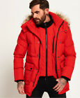 Superdry SD Expedition Parka Jacket Red
