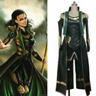 Thor The Dark World Loki Cosplay costume Carnaval Halloween uniform Custom/LK