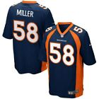 Denver Broncos Jersey Von Miller #58 Nike Youth Alternate Game Replica NFL on eBay