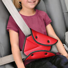 Child Car Seat Belt Pad Triangle Safety Adjuster Kids Comfort Cover Harness Clip