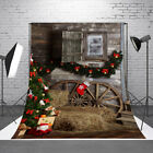 Christmas Backdrop Photo Vinyl Photography Studio Prop Celebrate Xmas Background