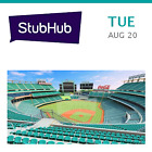 Cleveland Indians at New York Mets Tickets - Flushing on Ebay