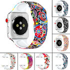 Silicone Prints Replacement Strap Band For Apple Watch Series 4 3 2 1 40mm 44mm image