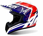 CASCO HELMET AIROH SWITCH STARTRUCK BIANCO ROSSO OFFROAD CROSS MX RED GLOSS