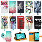 Cubot Wileyfox Leather Printed Pattern Wallet Kickstand Flip Book Bag Case Cover