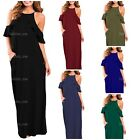 I2CRAZY Women's Casual Maxi Dress Sleeveless Loose Plain Beach Dresses with