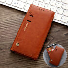 Leather Wallet Case For Iphone 12 11 Pro Xs Max Xr X Se 7 8 Card Slot Flip Cover