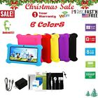 🔥quad Core 7inch Kid Tablet Pc Android 8.1 Dual Camera Hd Wifi 8gb Bundle Case