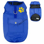 Dog Coat Winter Warm Waterproof Padded Jacket Clothes Vest For Small Large Pet